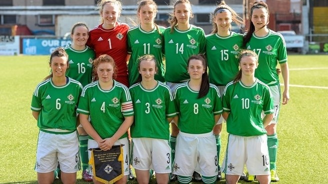 2017 WU19 EURO: Northern Ireland