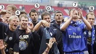 Snap shot: Chelsea's 2005 title winners a decade on