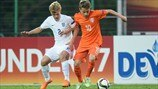 Highlights: Netherlands 1-1 England