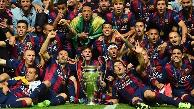 2014/15: Barcelona claim fifth crown