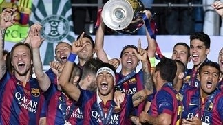 See how Barcelona won 2015 crown