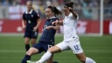 Gaëtane Thiney (France) & Lucy Bronze (England)