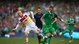 Steven Naismith (Scotland) & Glenn Whelan (Republic of Ireland)