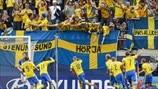 See Sweden's dramatic victory