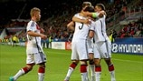 Highlights: Czech Republic v Germany