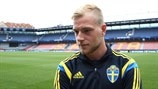 Guidetti: Sweden are 'underdogs'
