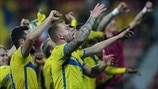 Guidetti leads the Sweden celebrations