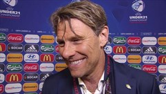 Ericson in 'paradise' after Sweden win