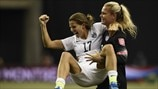 Tobin Heath & Ashlyn Harris (USA)