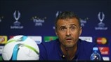 Luis Enrique dismisses favourites' tag