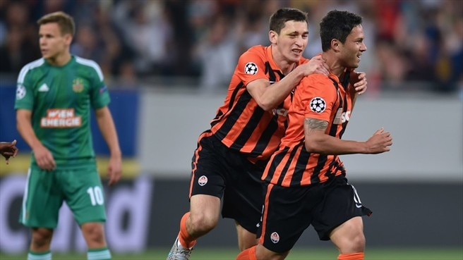 Video: Shakhtar Donetsk vs Rapid Wien