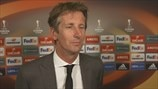 Van der Sar on Ajax draw