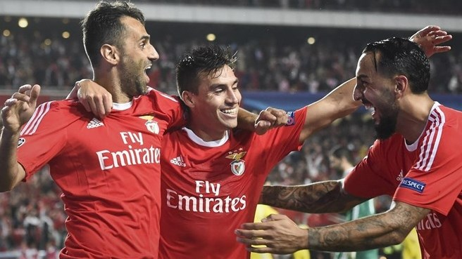 Benfica get the better of newcomers Astana