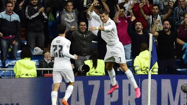 Madrid duo celebrate as Manchester pair slip