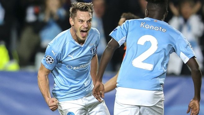 Malmö off the mark with defeat of Shakhtar