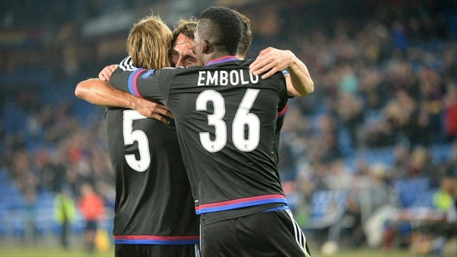 Basel champions with five matches still to play