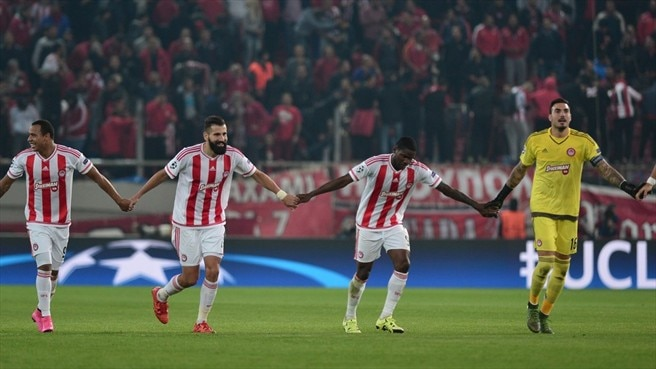 Pardo the hero as Olympiacos down Dinamo