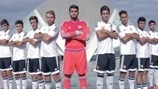 Valencia keepy uppy UEFA Youth League skills challenge