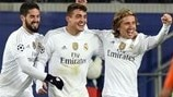 Real Madrid: the story of their group stage