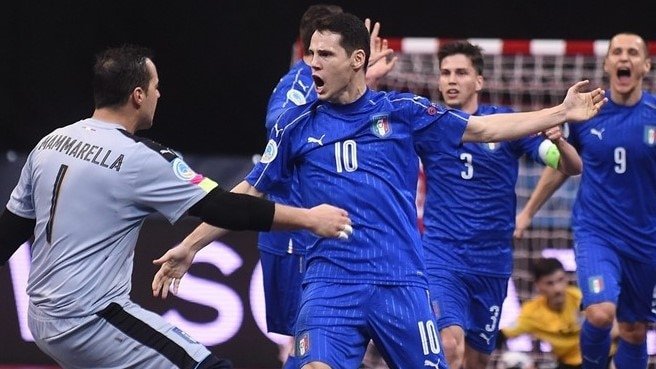 Merlim magic conjures Italy win