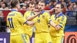 Watch Ukraine win nine-goal thriller