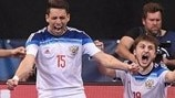 Watch Russia beat hosts in extra time