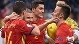 Watch Spain survive Kazakhstan fightback