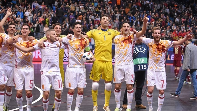 Watch: How Spain won their seventh Futsal EURO