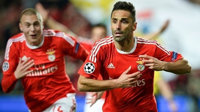 Jonas strikes late to earn Benfica narrow win