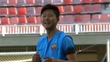 Barcelona prospect Seungwoo Lee's last-minute winner!
