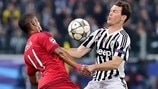 Juventus 2-2 Bayern: the story in photos
