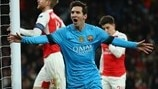 Background: Barcelona v Arsenal