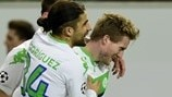 Wolfsburg 1-0 Gent: the story in photos