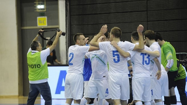 Slovenia make history with Spain futsal success