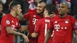 Bayern 1-0 Benfica: the story in photos
