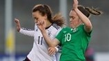 Jessica Gargan (Republic of Ireland) & Viktoria Schwalm (Germany)