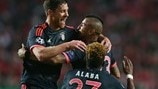 Benfica 2-2 Bayern: the story in photos