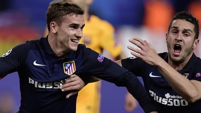 Griezmann abuzz after Atlético oust Barcelona