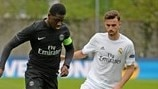 Mamadou Doucoure (Paris Saint-Germain) & Borja Mayoral (Real Madrid)