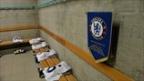 The Chelsea dressing room