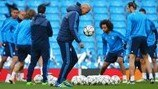 Manchester City v Real Madrid: first leg build-up