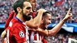 Back in April: Atlético edge Bayern in semi-final opener
