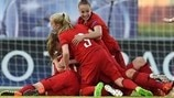 Powerful Germany pip England in thriller