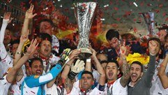 Re-live the moment Sevilla lifted the trophy