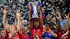 Relive the moment Lyon lifted the trophy