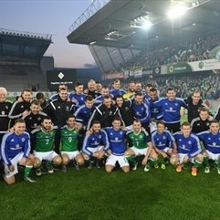 Northern Ireland name 23-man EURO squad
