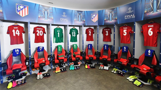 Behind the scenes: Real Madrid v Atlético