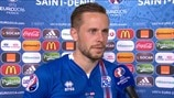 Sigurdsson excited for 'perfect' England tie