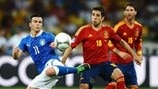 Highlights: Italy v Spain down the years