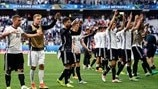 See Germany's path to the last eight